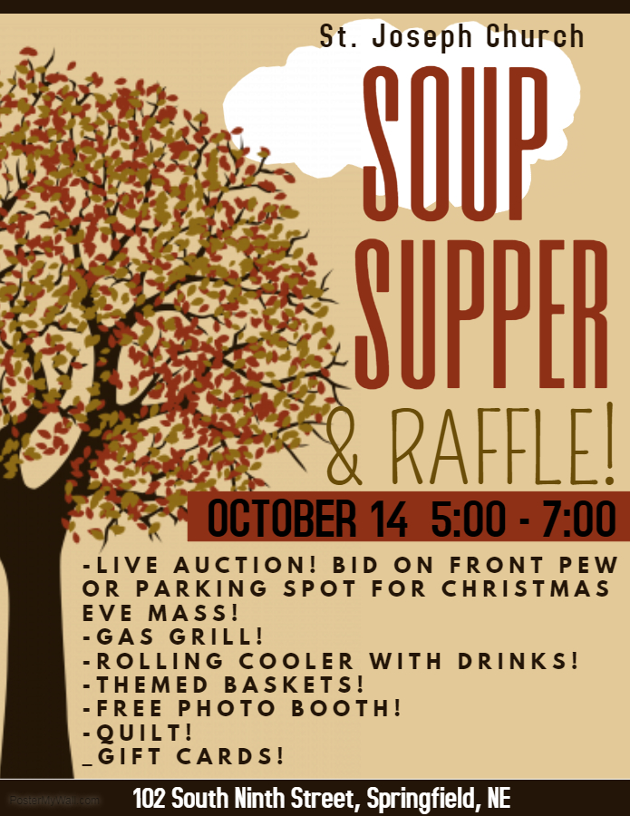 Soup Supper Flyer 2017