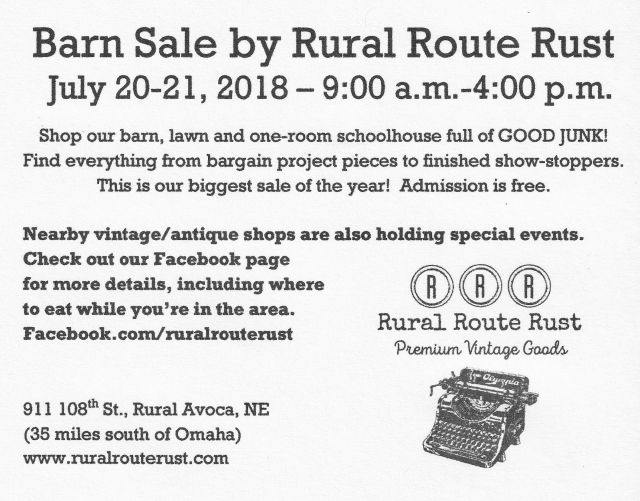 Barn Sale Avoca