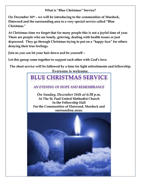 BlueChristmas Flyer page 0