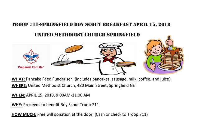 Boy Scout Breakfast 2018