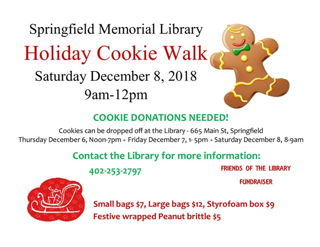 Cookie Walk 2018