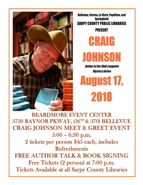 Craig Johnson flyer