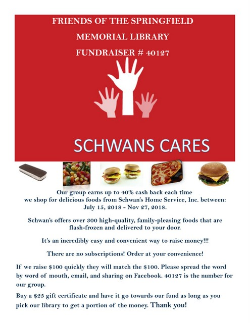 Friends Schwans Cares2018