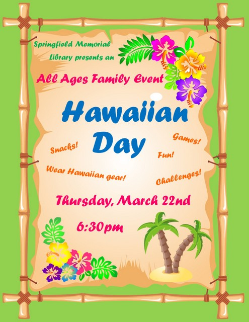 Hawaiian Day Flyer copy