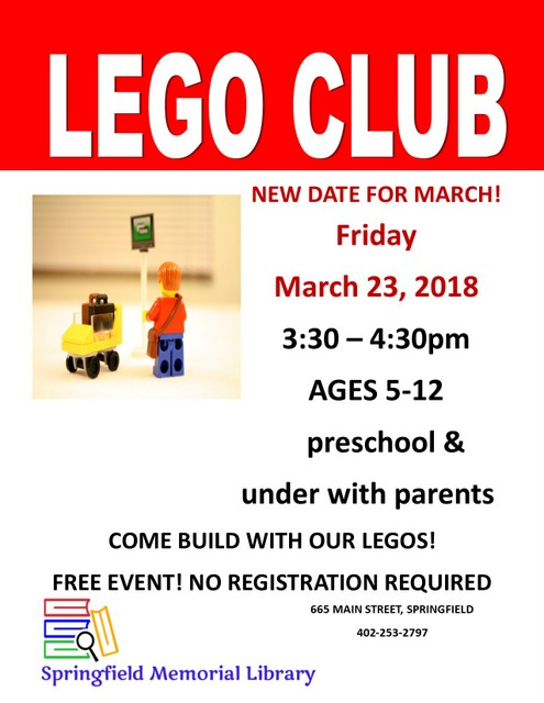 Lego Club March2018
