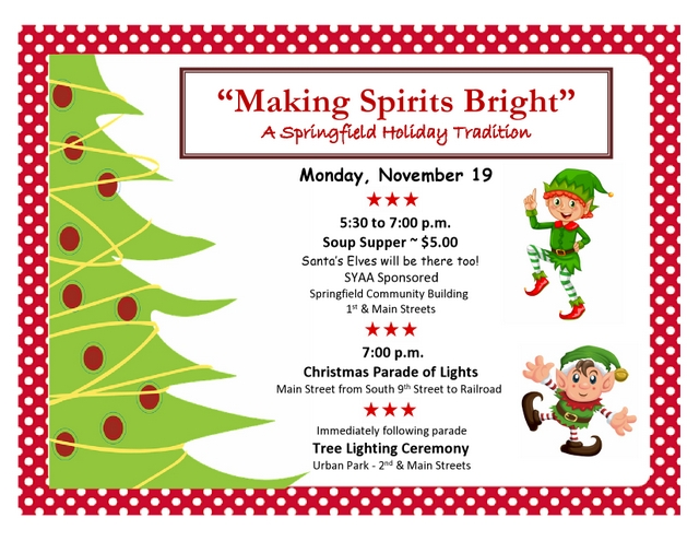Making Spirits Bright Flyer jpg