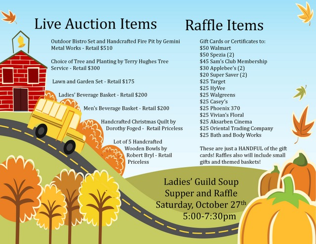 Soup Supper Raffle