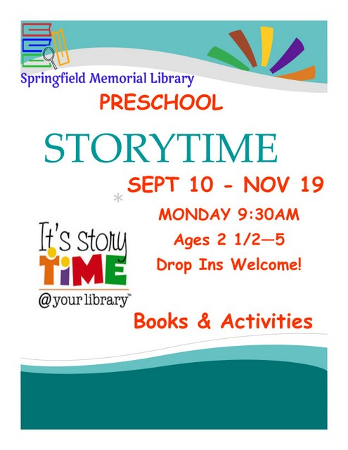 Storytime Fall2018