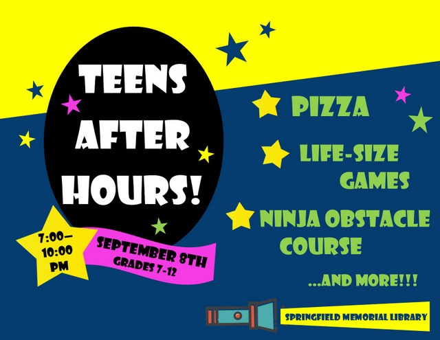 Teen After Hours Party 2018