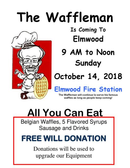 The Waffleman Flyer 2018