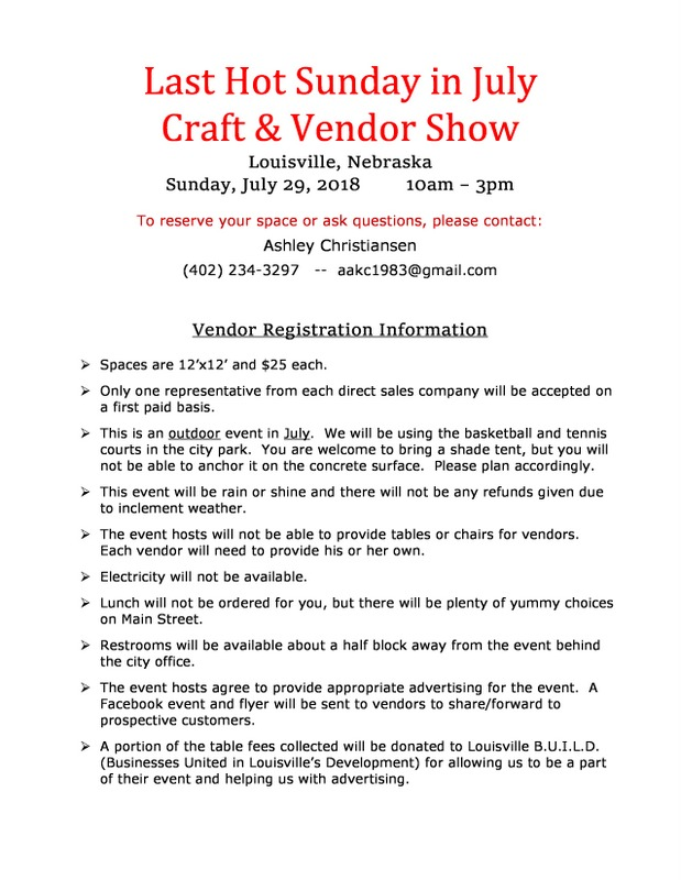 Vendor Flyer Louisville