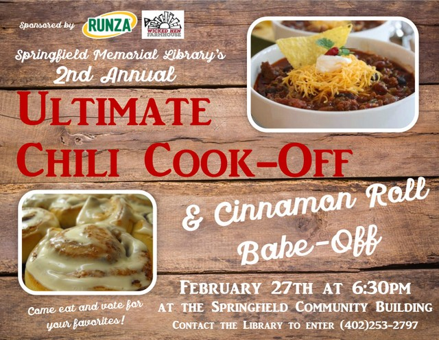 Chili Cook Off Flyer 1