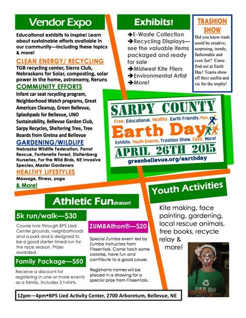 2015 Earth Day Flyer