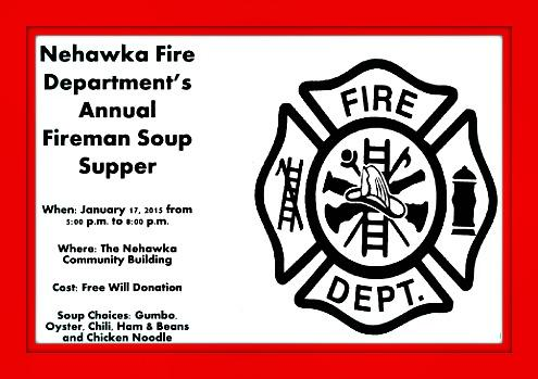 2015 01 15 Nehawka Fire Soup Supper