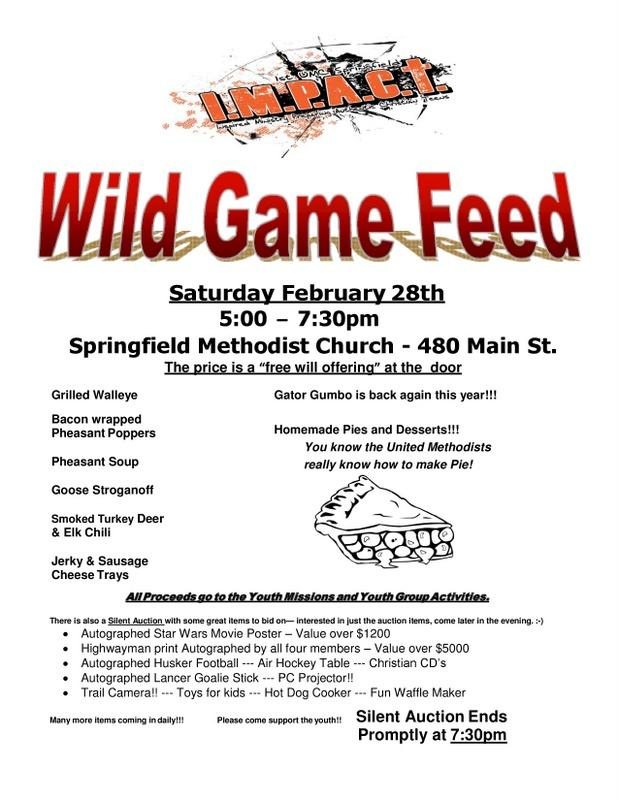 2015 GAME FEED Door Flyer page 0