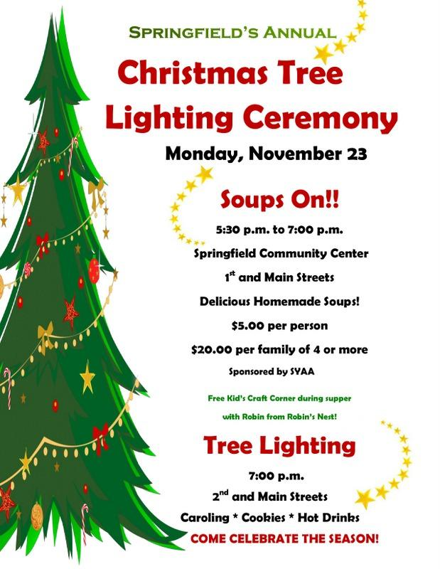 2015 Tree Lighting Flyer page 0