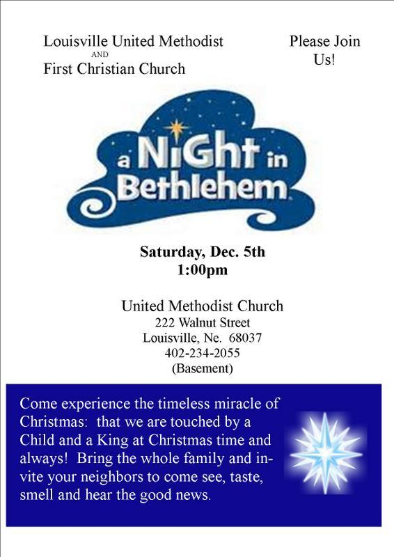 Night in Bethlehem flyer 2015