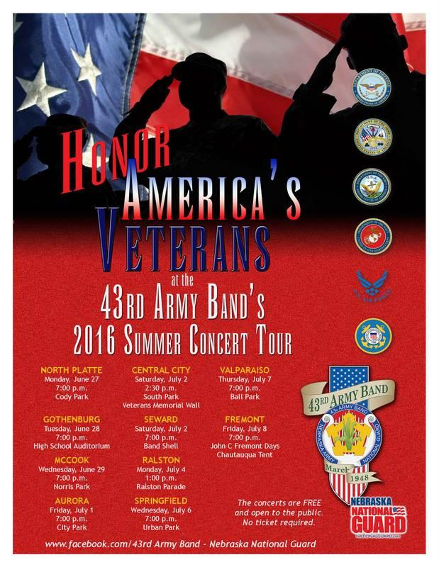 43rd Army Band Concert 2016