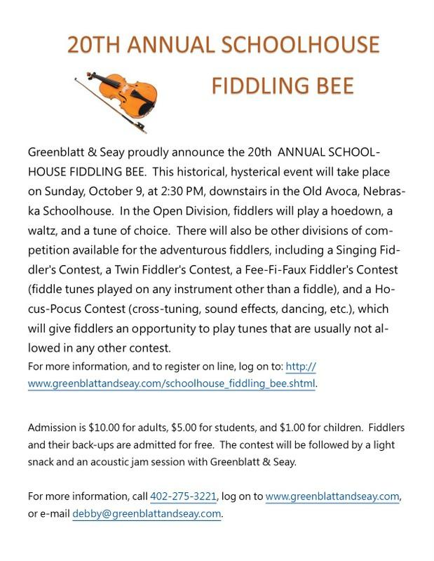 Fiddling Bee