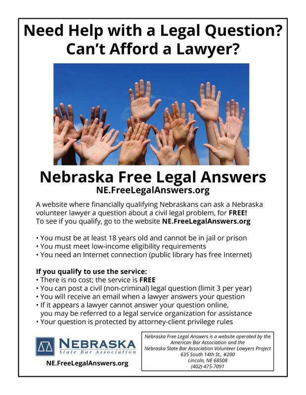 NEFreeLegalAnswers