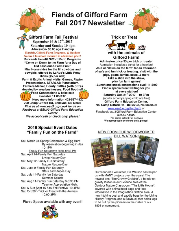 2017 Fall FOGF Newsletter pg1