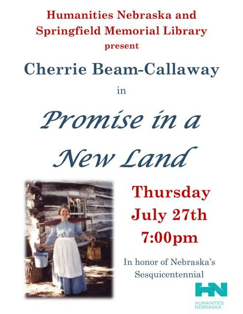 Cherrie Beam Callaway NE Humanities Flyer 001