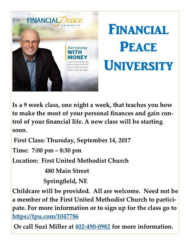 Financial Peace 2017