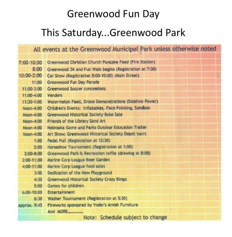 Greenwood Day