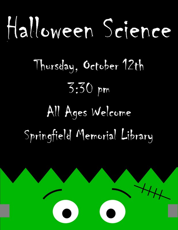 Halloween Science Flyer