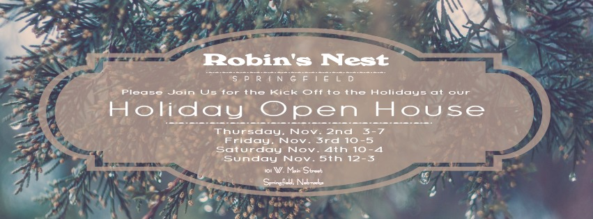 Robins Holiday Open house