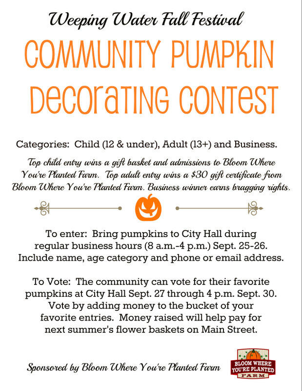 WWpumpkin decorating contest