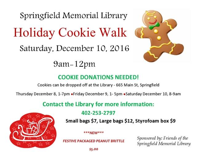 cookie walk 2016