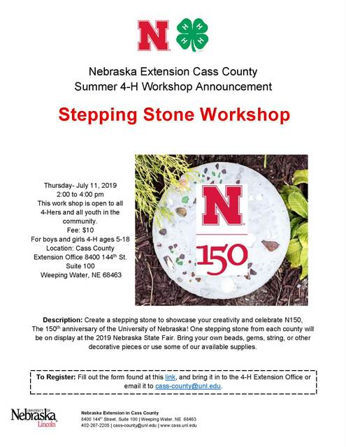 2019 Stepphing Stone Workshop