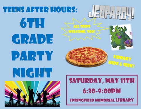 6th Grade Party Night 2019