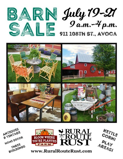 Barn sale flyer 19 page 0