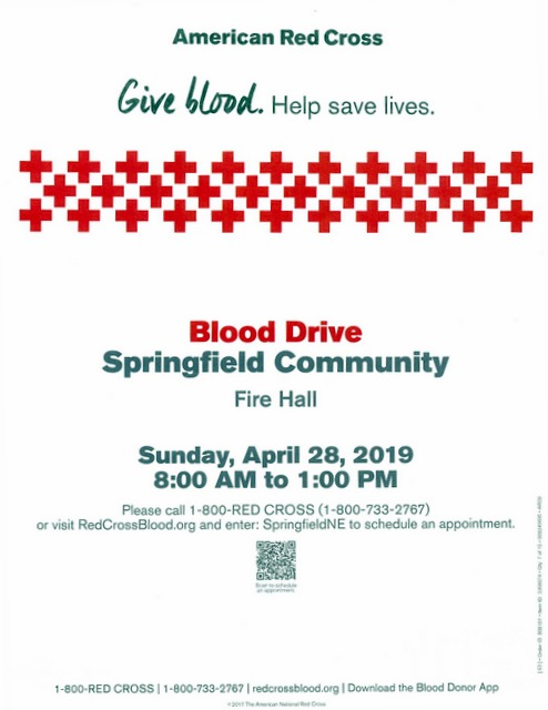 Blood drive April2019