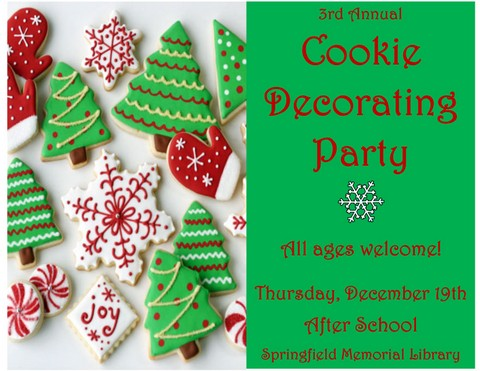 Cookie Decorating Flyer 1