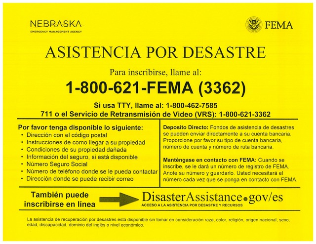 Flood FEMA Spanish