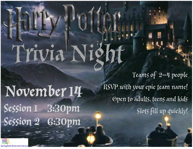 HP Trivia Window Flyer 1