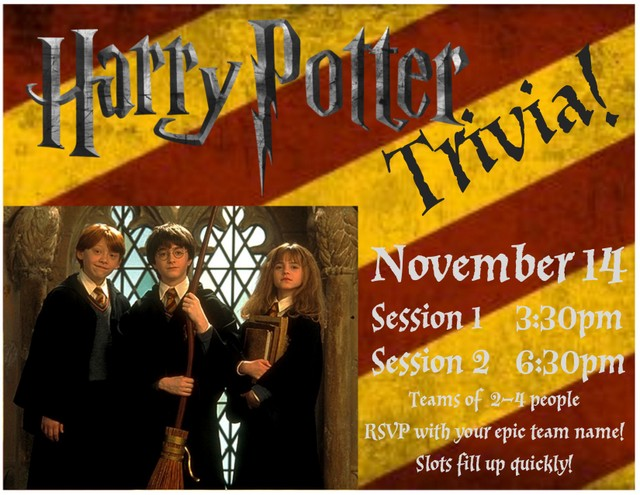 Hp Trivia Window Flyer 2