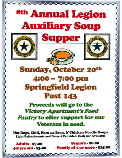 Legion Soup Supper