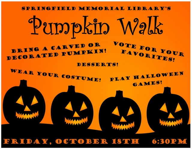 Pumpkin Walk Poster
